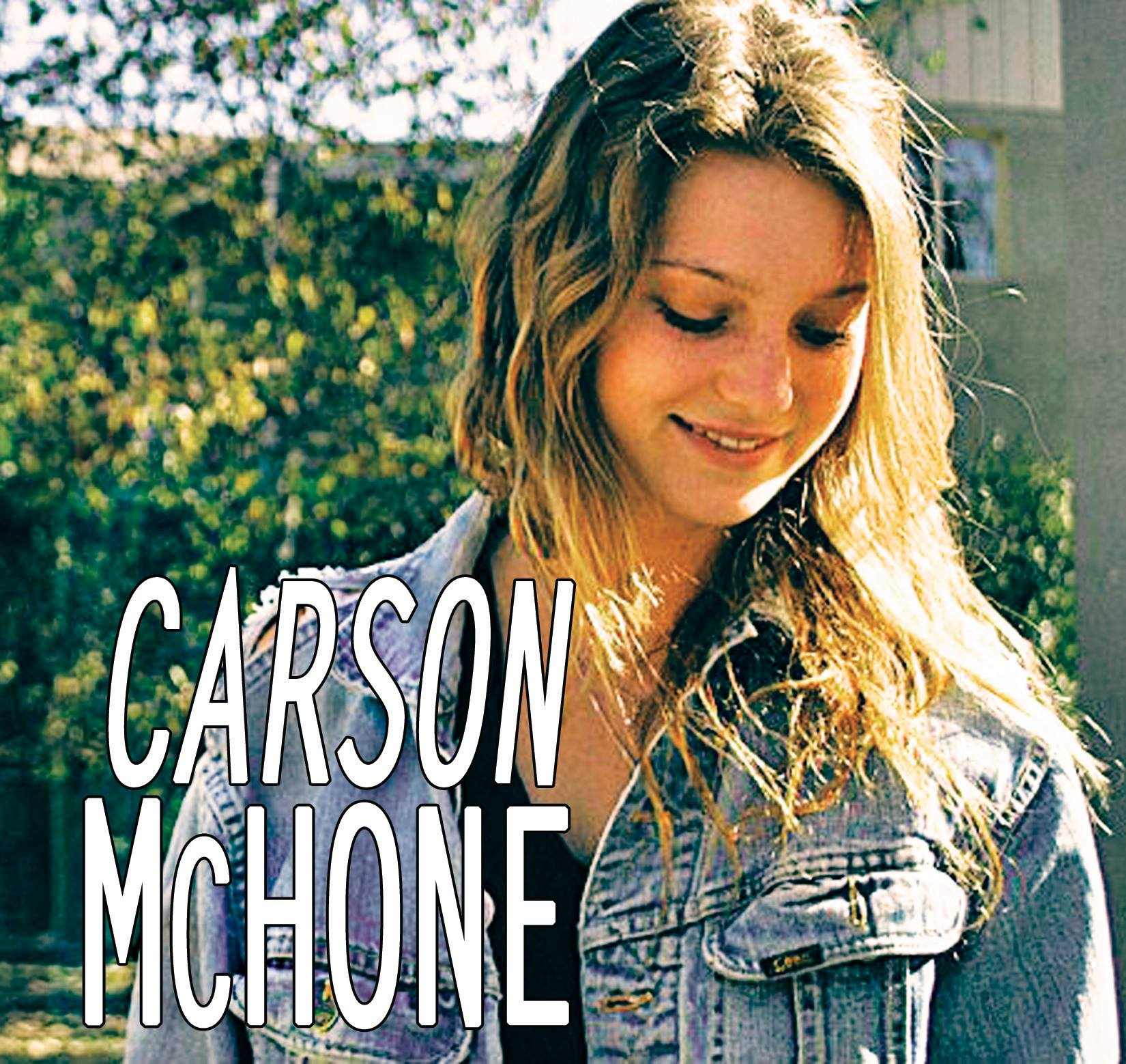 Carson mchone singer songwriter on the rise